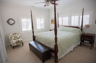 Master Bedroom California King Bed