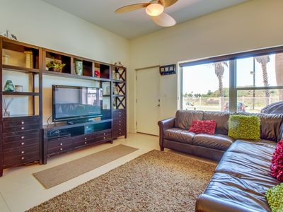 Photo for Lovely condo w/ patio, shared grill, & shared pool/hot tub access!