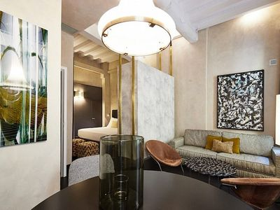 Photo for Appartamento Calliope A: A modern and graceful studio apartment located in the historic center of Florence, with Free WI-FI.
