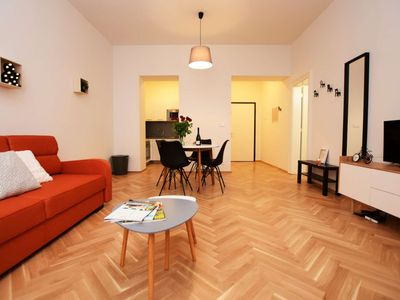 Photo for pragueforyou ❤ RE-B ❤NEW trendy, central apt.