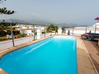 Photo for Fabulous Penthouse apartment, with private roof terrace and pool, three bedrooms