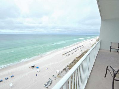 Photo for Marisol 903, 3 Bedrooms, Beach Front, Pool Access, WiFi, Sleeps 8
