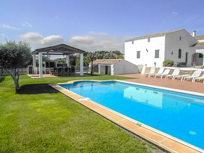 Photo for Catalunya Casas: Fantastic Villa Bini for 8 guests, just 7km to the beach!