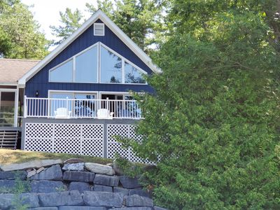 Photo for Lakehouse with Stunning Sunsets on Lake Champlain! Sleeps 8, dog-friendly