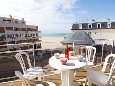 Photo for Apartment Les Terrasses  in Saint Malo, Brittany - Northern - 4 persons, 1 bedroom
