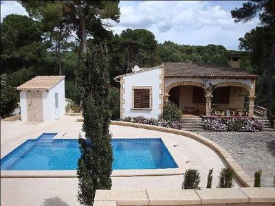 Photo for Holiday Home seafront, pool con clorador Salino, BBQ, sea view, wifi