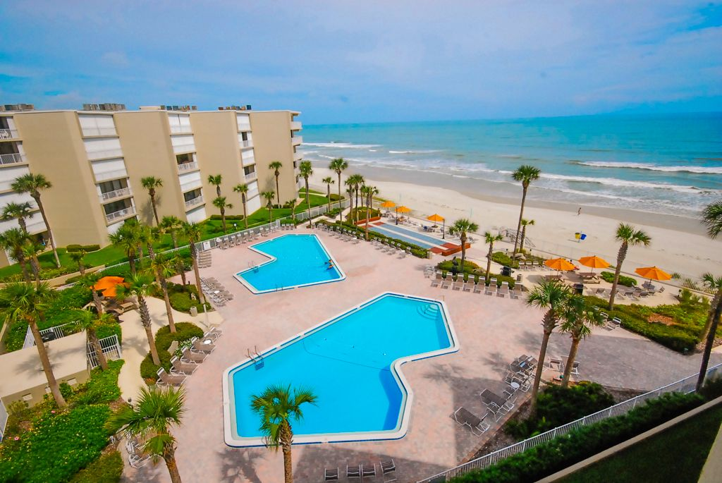 Luxurious Oceanfront Condo In New Smyrna Beach