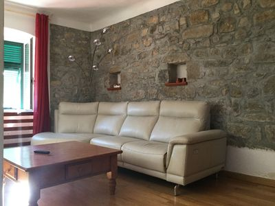 Photo for INDEPENDENT APARTMENT FOR 4 PEOPLE IN COLLIINA A FEW KILOMETERS FROM LERICI