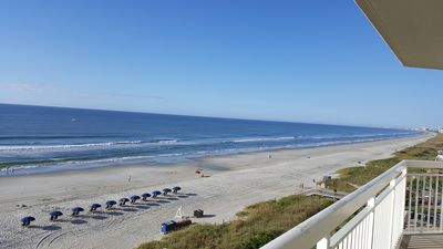 Crescent Shores Beachfront. Rent umbrella and chairs right out front (seasonal)