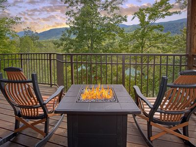 Photo for Brand New 1 Bedroom Luxury Cabin with Amazing Views