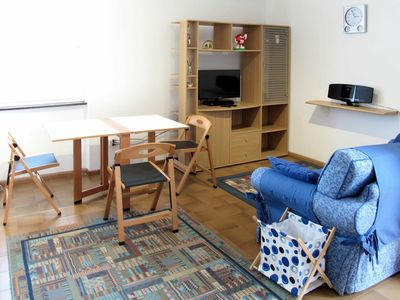 Photo for Nice apartment for 2 people with TV, balcony and parking
