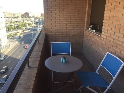 Photo for Large exterior apartment complete with WIFI next to AVE station in Valencia
