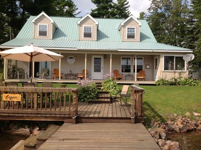 Photo for Exceptional Private Four Season House on Quiet Adirondack Lake