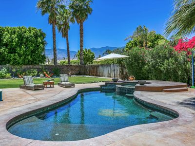 Photo for New Listing! Poolside Sanctuary w/ Hot Tub, Firepit & Huge Patio