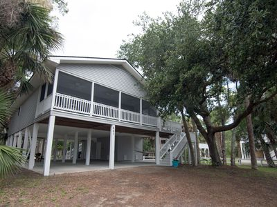 Photo for Knotty Buoys - Spacious & Pet Friendly 4BR Beach Walk Home