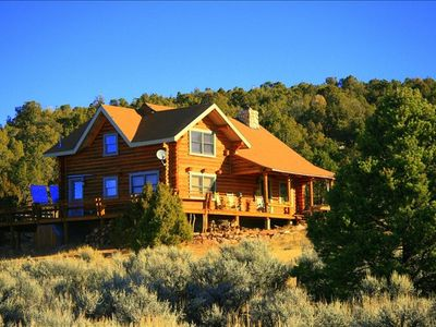 Photo for Cabin overlooks Moab and appeals to folks wanting to experience peace & quiet.