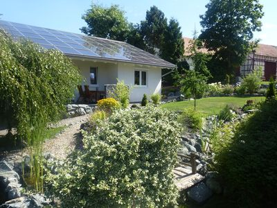 Photo for Cosy holiday home with garden sauna in the region 'Ederbergland'