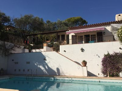 Photo for Private Villa with pool house within idyllic provencal gardens