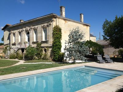Photo for Gite between Bordeaux and St Emilion in mansion