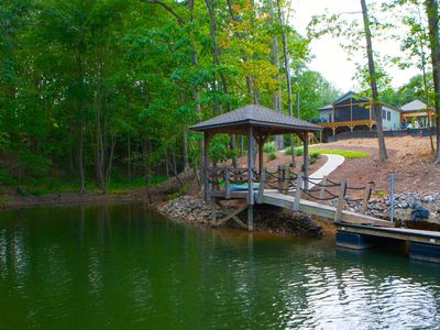 Photo for Waterfront Home has it all! (Pontoon Boat Available)