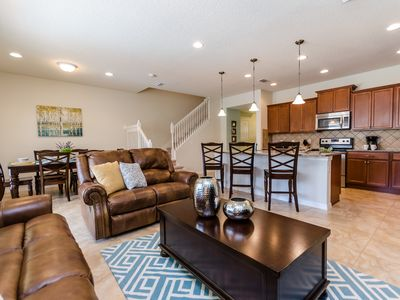 Photo for Just 10 minutes from Disney World, this townhome boasts comfort and luxury!!!