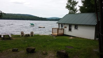 Photo for Secluded Lake Winnipesaukee Cottage (Very Cozy & Private)