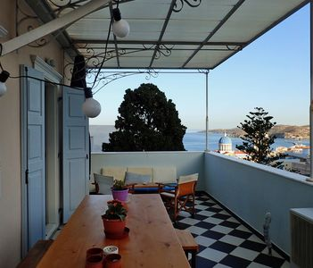 Photo for 1BR Apartment Vacation Rental in Ermoupoli