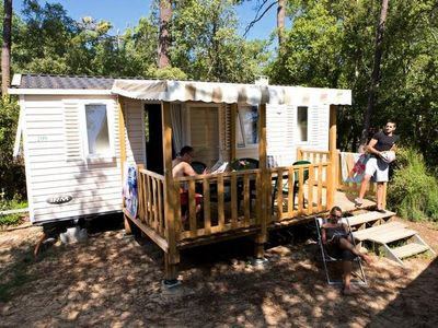 Photo for Camping Signol ***** - Mobile Home Riviera 3 Rooms 4 People
