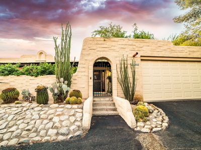 Photo for Serene Pueblo Style Townhome in Scenic North Central Tucson