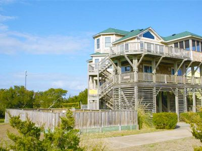 Photo for A Semi-Oceanfront Treasure w/ Private Pool, Hot Tub, Volleyball Ct, Dog-Friendly