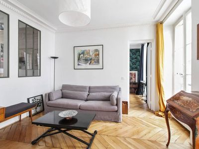 Photo for Amazing and bright flat near Le Louvre