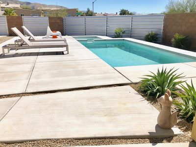 Photo for Desert Fox - A Mid Century Home with Pool/Spa