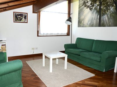 Photo for Attic apartment with lake view! With air conditionig,  garden and free parking