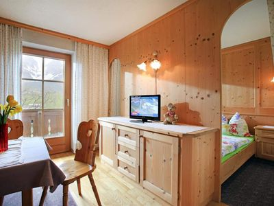 Photo for Appart. No. 2, living room / bedroom, shower, WC, Bergs. - lance farm