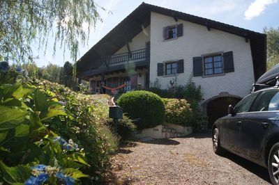 Beautiful regional-style home, full comfort in green Vosges area, 3 minutes from Voie Verte