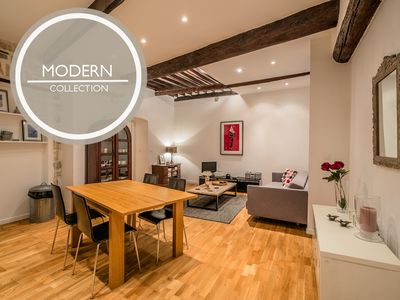 Photo for Pebble Loft - Spacious and contemporary meets Old Town charm.
