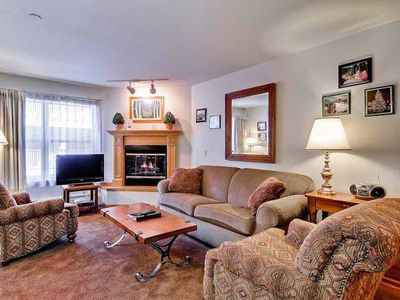 Photo for Affordable downtown Breckenridge condo with pool, hiking/biking trails