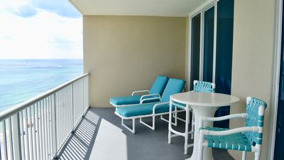 Photo for 2 BR / 2 BA beach front condo, Sleeps 7, Great Location and Onsite Amenities