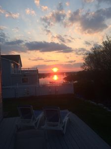 Wonderful Waterviews and Spectacular Sunsets at this Pt. Judith Summer Home