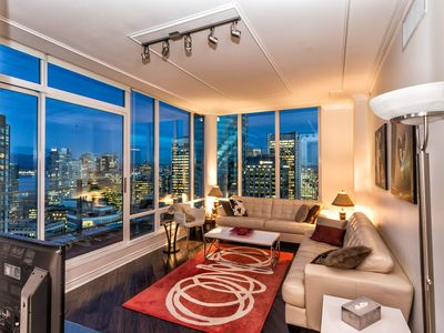Photo for ❤️DOWNTOWN VANCOUVER'S 35TH FLOOR FABULOUS VIEW LUXURY PENTHOUSE 3BR/2BA+PARKING