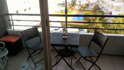 Photo for Colene Blue Duplex Apartment, Pool, Wifi