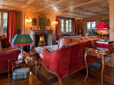 Photo for Catered Luxurious Chalet with Spa in Gstaad Center