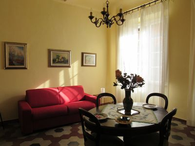 Photo for A vintage apartment in Lucca city center