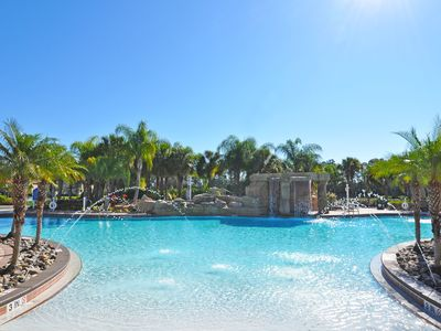 Photo for Beautiful 4 Bed Gated Town Hm w/ Splash Pool At Paradise Palms Resort Frm $120nt