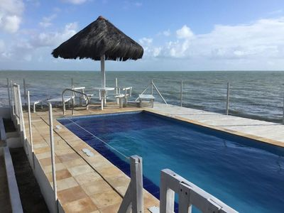 Photo for Apartment 03 front / sea view, 1st floor, 2 suites and 1 bedroom. Solar Maradentro