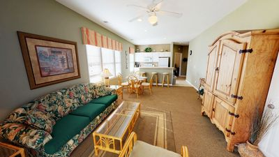 Photo for INCLUDES Wi Fi & Access to Village Activity Center. Golf Course View 1st floor Condo