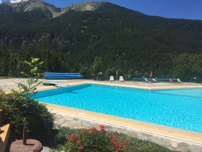 Photo for Les Orres Summer Vacation Bike Park Swimming Pool Ice Rink Tennis Hiking Accro Branch
