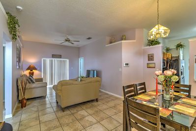 Enter the 3-bedroom, 2-bath property and make yourself right at home!