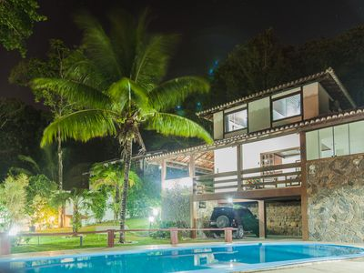 Photo for House with 5 suites in Taperapuã, 6km from the center and 900m from the beach