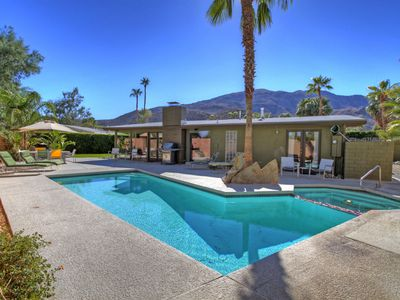 Photo for Mid Century Beauty w/Private Pool & Spa! The PERFECT Vacation Home!